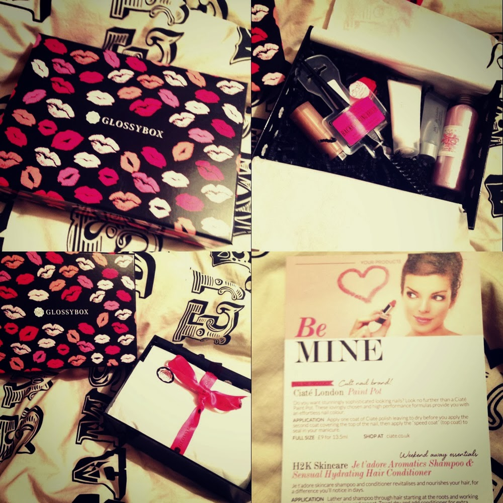 Glossybox Review February 2014