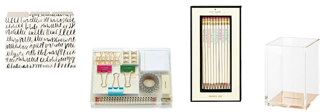 Stationery Wishlist // Kate Spade