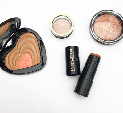 Review // Bronzers ft. Too Faced, Max Factor and Make Up Revolution