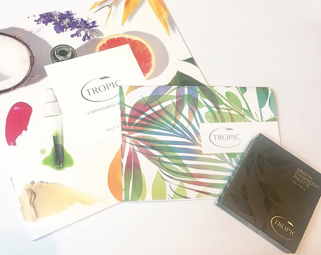 Review // Tropic Skincare Mineral Eyeshadow Palette*