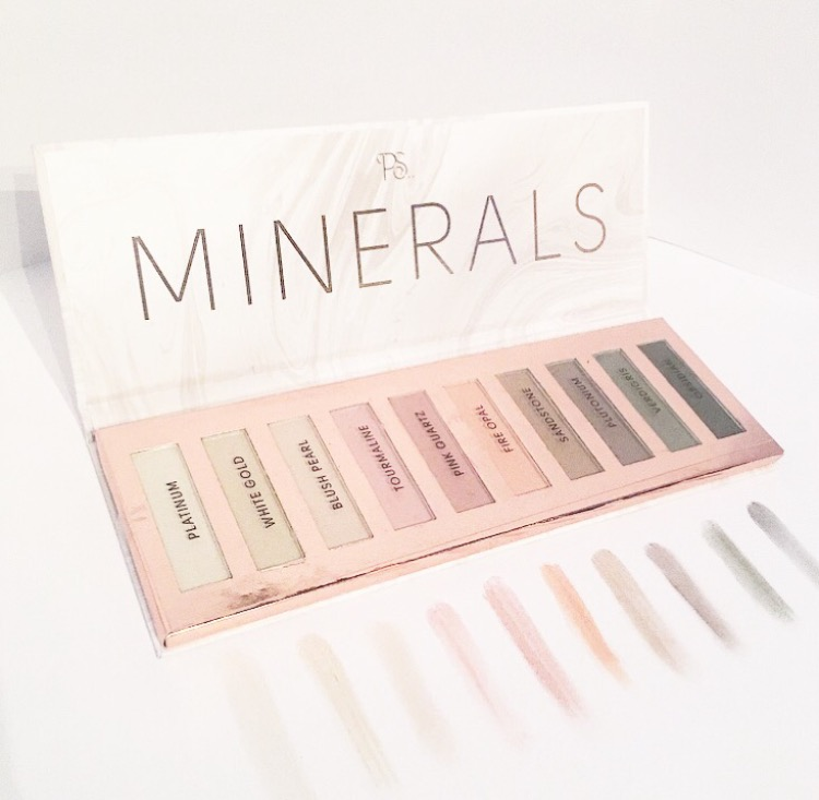 Review // Primark Minerals Eyeshadow Palette